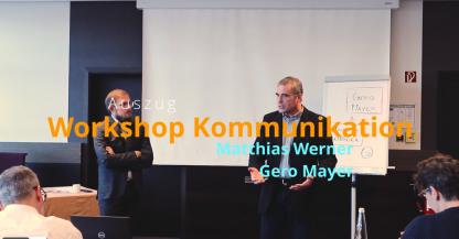 Workshop Gero Mayer Sicht.Kontakte